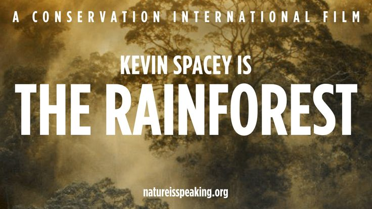 Nature Is Speaking – Kevin Spacey is The Rainforest | Conservation Inter...