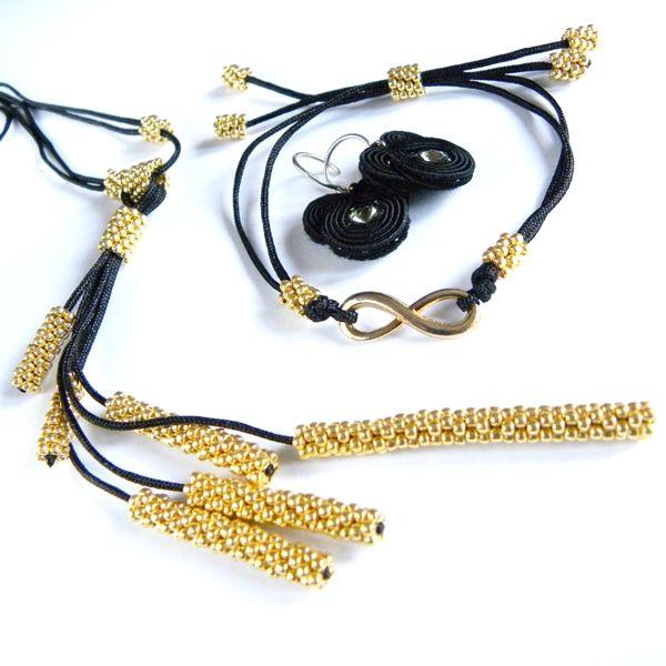 kolczyki sutasz; kolczyki; beading; biżuteria soutache; bransoletka; bransoletka koralikowa; komplet biżuterii; Swarovski; modne kolczyki; minimalistic; minimalistyczna biżuteria; modna biżuteria; modna bransoletka; modne akcesoria; modne naszyjniki; modne bransoletki; modne dodatki; must have; hit stylistów; hit sezonu; hand made jewellery; trend 2015; co się nosi;