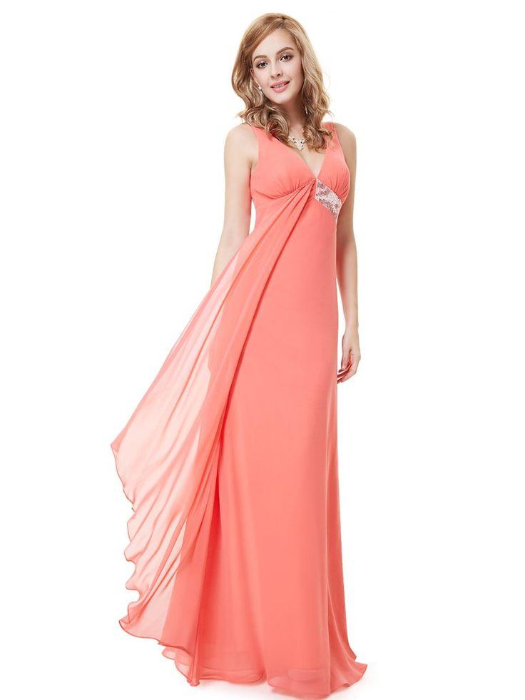 Ever Pretty Womens Long Semi Formal Wedding Guest Dress 6 ...