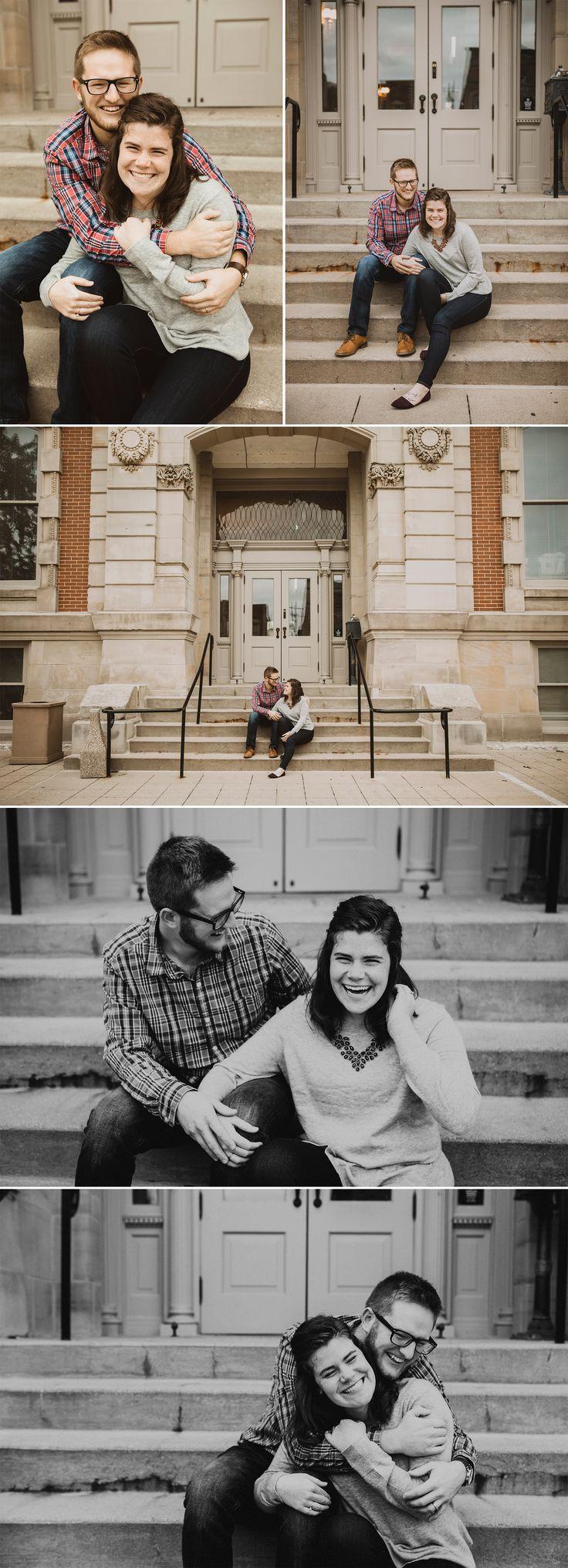 Urban Lifestyle Couples Photo Session // Fishers, Indiana Natural Light Portrait Photographer // Caitlin Tyner Photography #love #walks #neighborhood …