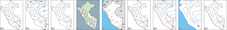 Peru: free map, free blank map, free outline map, free base map : outline, hydrography, main cities