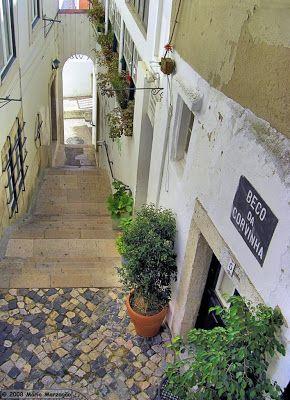 Mário Marzagão alfacinha: Escada acima, escada abaixo... faz bem às pernas