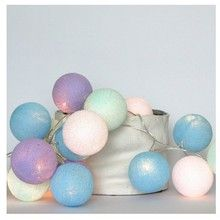 Cotton Ball Lights Baby Lavender 10 kul
