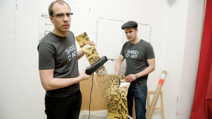 Kunst-Abwrackprämie. Der Gewinner der Aktion soll sein Kunstwerk zerstören.