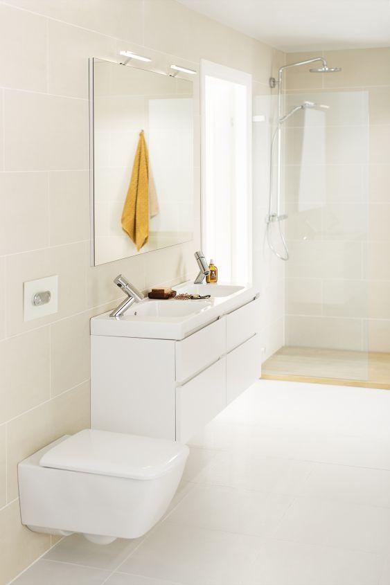 IDO it! Rimfree -wc on paitsi hygieeninen, myös ilmeettömän tyylikäs wc-istuin.