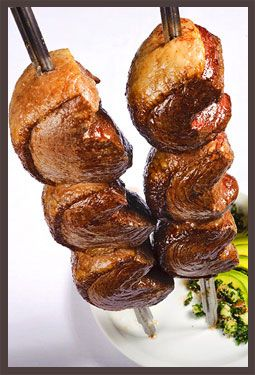 Sirloin Steak a.k.a. Picanha. A Brazilian favorite, this cut of beef is often considered to be the best part of the cow (even better than filet mignon!)