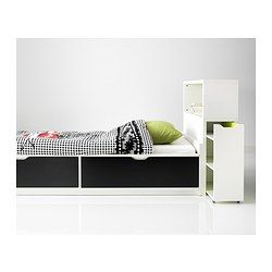 FLAXA bed frame / box + base - IKEA...replace black drawers for different color