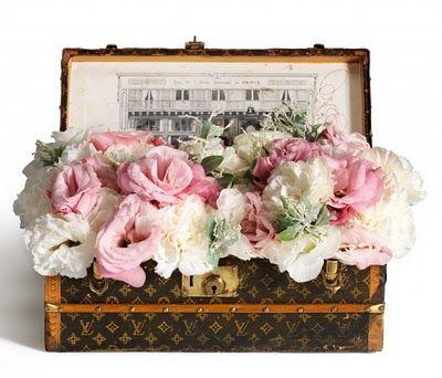 Louis Vuitton Malle Fleurs - Flower Trunk