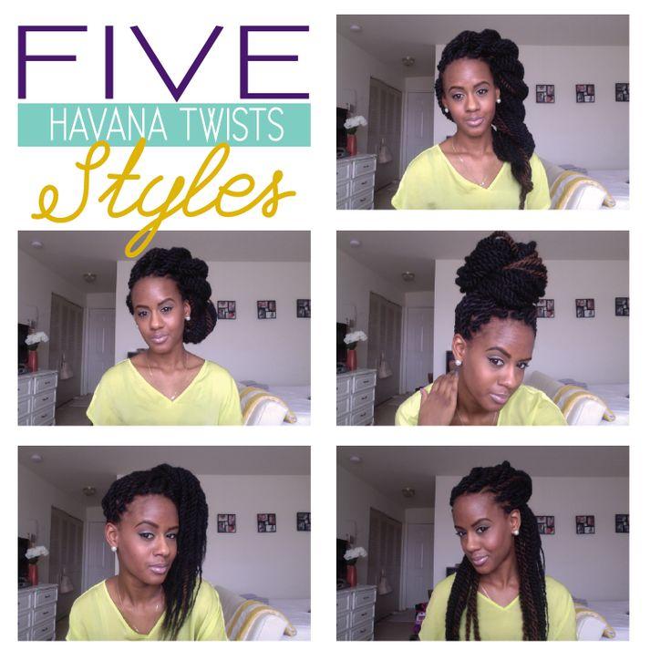 five havana twist styles