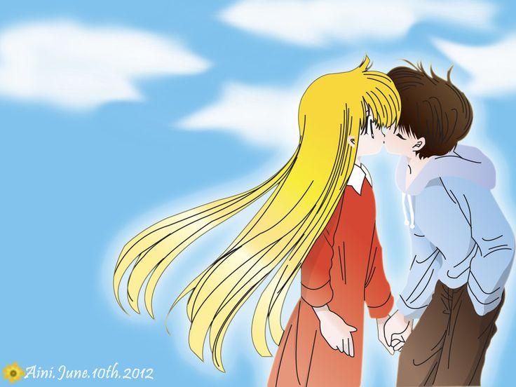 Miyu - Kanata kiss by himawari-no-ai