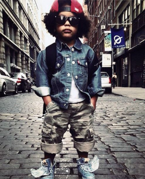 This makes me want a kid. I look forward to making my kid look fresh everyday, one day!