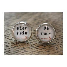 """Ohrringe """"Hier Rein - Da Raus"""" by Cathy Thica on ezebee"""