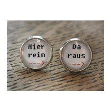 Ohrringe Hier Rein - Da Raus by Cathy Thica on ezebee Lust darauf mit Schmuck Geld zu verdienen? www.silandu.de