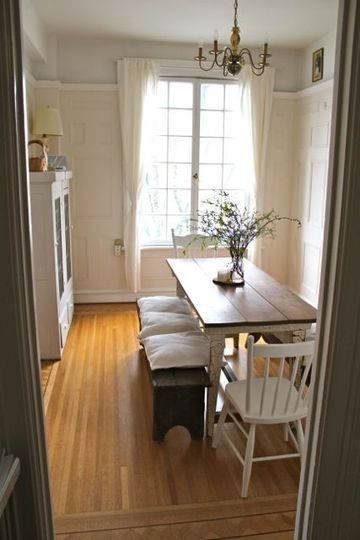 vintage everything u2014 house call small dining room - Dining Tables For Small Spaces