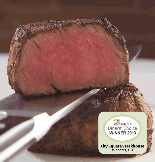 Steakhouse, Wooster, Fine Dining, Fresh Seafood, City Square Steakhouse