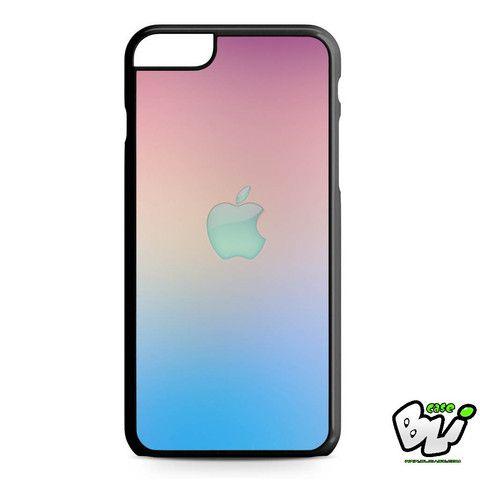 Pink Blue Apple Symbol Chevron iPhone 6 Plus Case | iPhone 6S Plus Case
