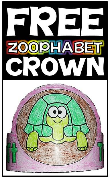 """FREE """"Zoophabet"""" materials for teaching the alphabet letters & sounds in English & Spanish!"""