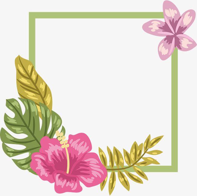 ناقلات بابوا نيو غينيا الزهور الوردية الأرجواني الزهور خطوط خضراء الخط الأخضر الصيف الحدود Flower Clipart Background Images Free Download Clip Art