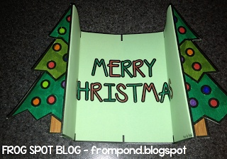 I love this Christmas Card Craft!