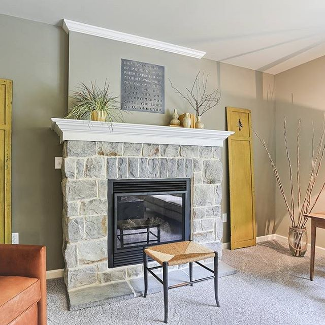 66 best images about fireplaces on pinterest fireplaces for New construction fireplace