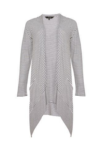 Stripe Drape Cardi - from Max Fashion