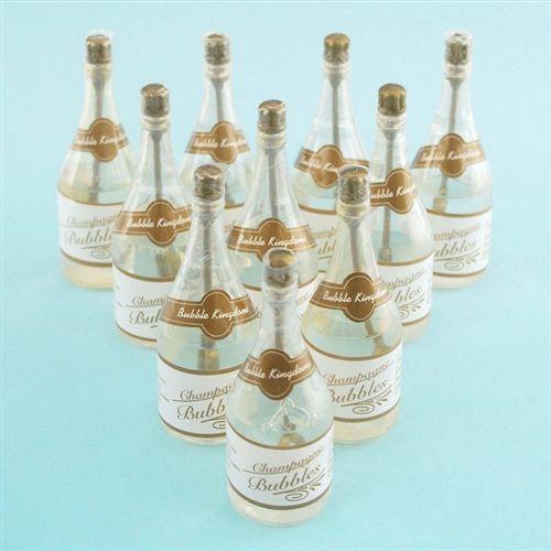 Wedding Champagne Bottle Bubbles