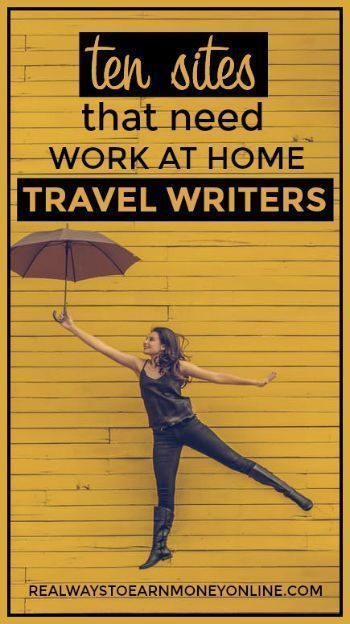 Want to Become a Travel Writer? Here's 10 Sites to Consider.