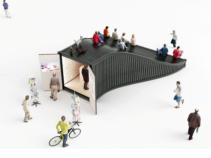 Gallery of Designers Explore an Entirely New Use for Shipping Containers in Seoul's Design District - 1