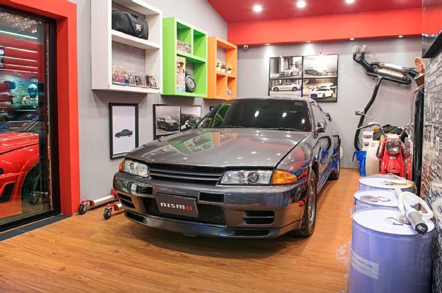 Heng Thammarat Dream Garage R32 Skyline Gtr Dream Garage Garage Nissan Skyline Gtr