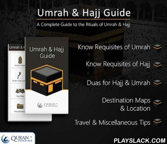 Umrah & Hajj Guide  Android App - playslack.com , Umrah & Hajj Guide is an Islamic Smartphone Application that helps Muslims all over the world to know about every aspect of performance of religious rituals of Umrah and Hajj in the most effective way.FeaturesSome of the most distinguishing characteristics of this mobile phone app are:• Complete information concerning both Pilgrimages.• Highly Advanced Search Engine and Graphical Representation used in Maps.• Easily understandable User…