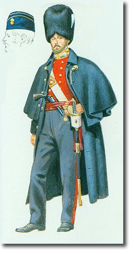 The First Regiment of Foot Guards OFICIAL EN CRIMEA - 1854. Más en www.elgrancapitan.org/foro