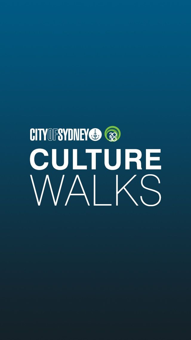 Sydney Culture Walks app splash screen