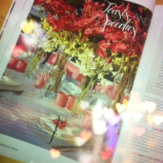 """@Modern Wedding mag! Page 42 in the Clubs NSW supplement """"Toasts & Speeches"""" ~ Beautiful views from our Deck Bar Lounge"""