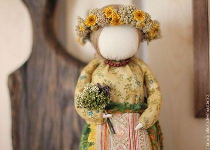 "Кукла ""Одолень трава"" - оберег,славянский оберег,обереги,кукла-оберег"