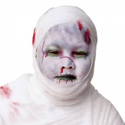 Maquiagem de múmia para Halloween Passo a Passo