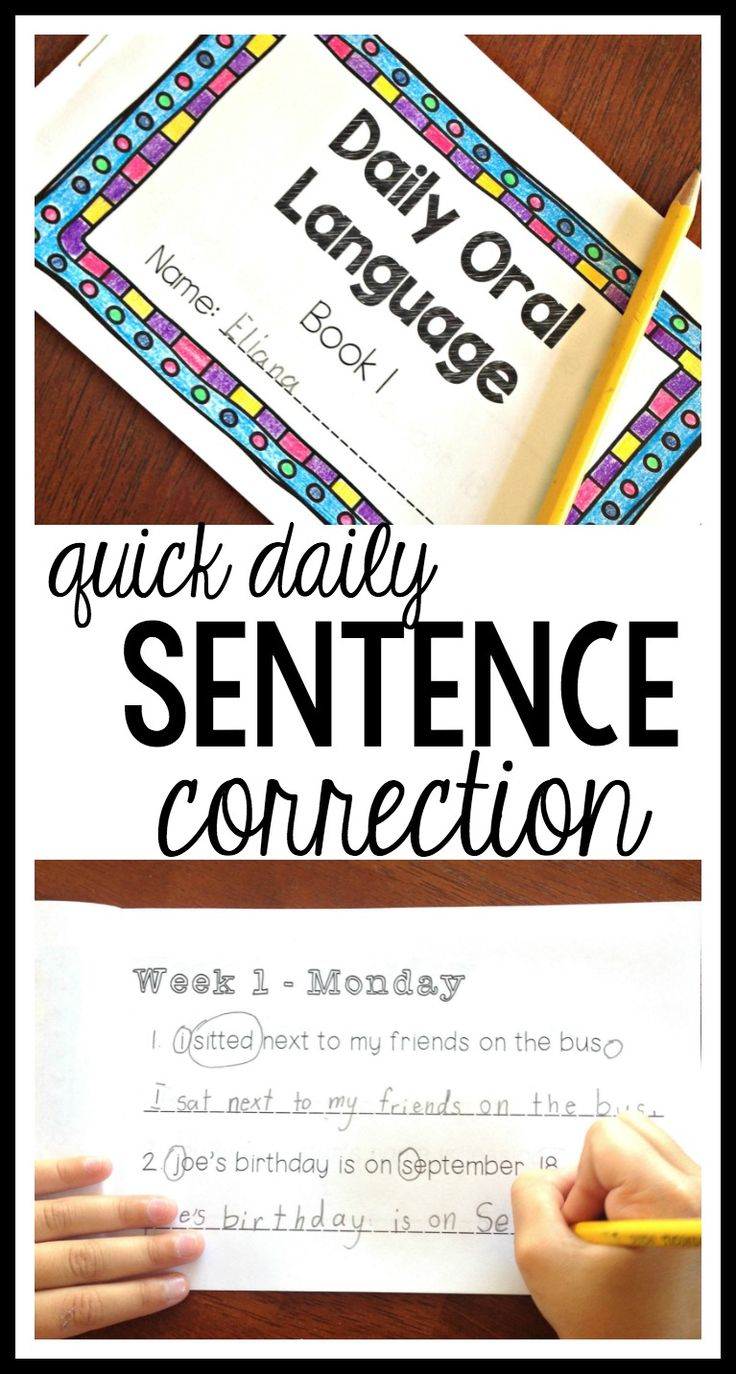 Quick, common core aligned, daily punctuation practice for kids in second grade, third grade, fourth, grade, and fifth grade! These Daily Oral Language booklets encourage students to edit for punctuation, spelling, and capital letters. Perfect for Writers' Workshop or quick morning work.