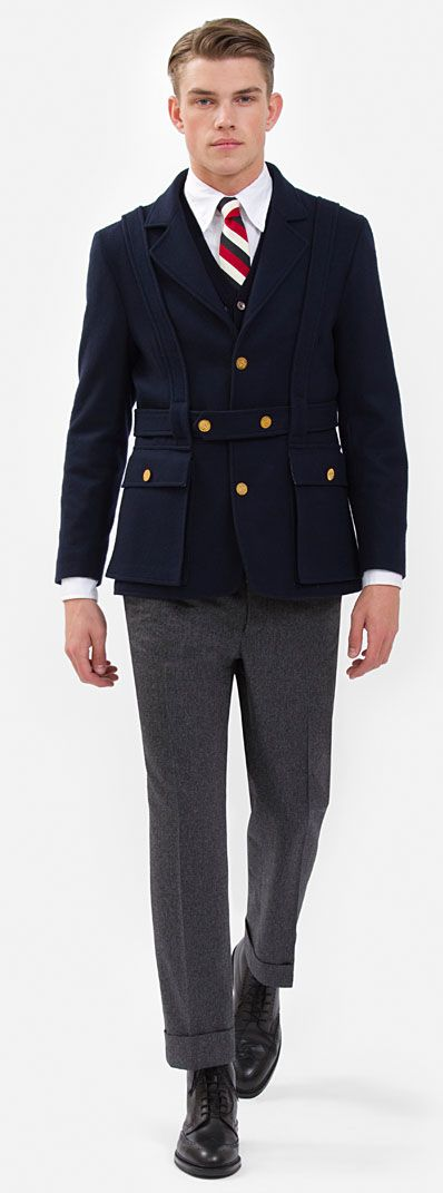 Brooks Brothers Black Fleece Fall 2011 #thombrowne