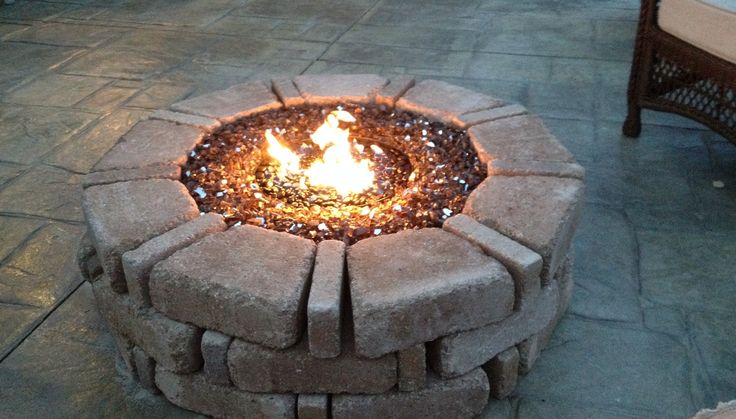 1000 images about diy fire pit ideas on pinterest for How to cut glass with fire