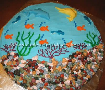 Coolest  Ocean cake eva! My cousin would luv it!!!!!