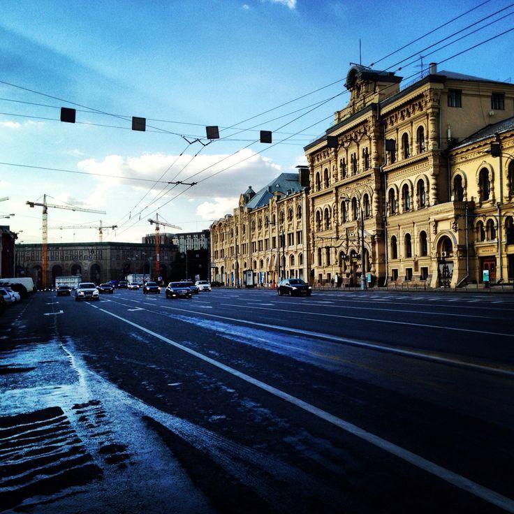 Moscow Streets | Moskova Caddeleri | Московские улицы