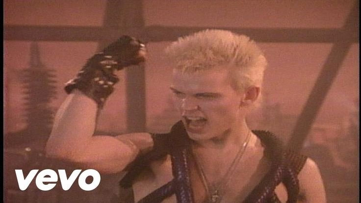 Billy Idol - Dancing With Myself-A post apocalyptic dance party was never so much fun. Thanks Billy.