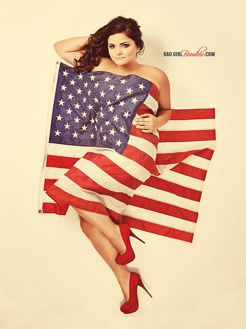Patriotic American Pinup Boudoir Photoshoot // Military Jacksonville, Orlando, Tallahassee, Daytona, Georgia, Florida Photography by LINDSAY PULLEN design, via Flickr