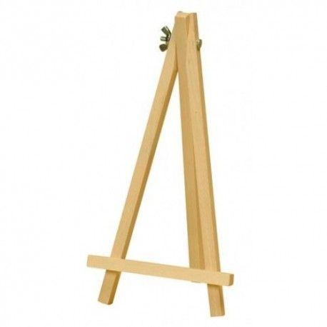 Chevalet en bois naturel 18cm