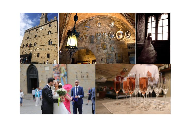 A more beautiful town hall does not exist!  Trouwen in 1 van de mooiste trouwzalen van Toscane! - Volterra #Volterra #tuscanywedding #conamore #bruiloft #weddingplanner