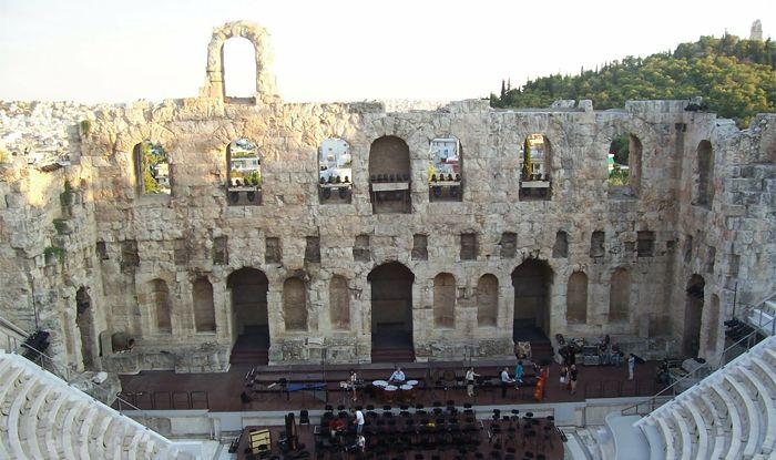 Театр Ирода Аттического, Иродио