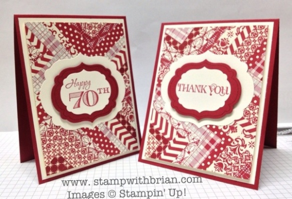 Curly Cute, Memorable Moments, Festival of Prints Designer Series Paper Stack, Be of Good Cheer DSP, Parker's Patterns DSP, Labels Collection Framelits, Stampin' Up!, stampwithbrian.com