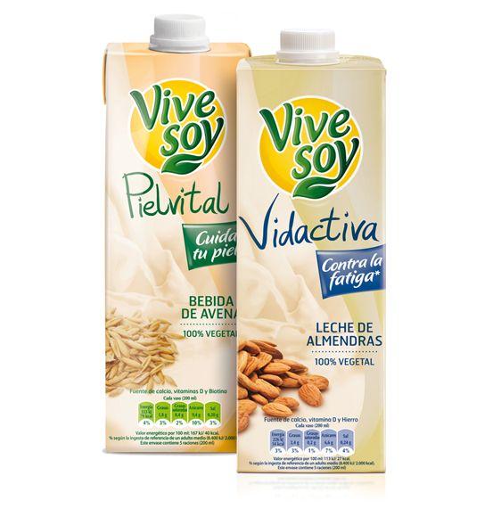 Nuevas bebidas, Vivesoy Pielvital (bebida de Avena) y