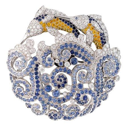 Van Cleef & Arpels unveiled their latest collection, Les Voyage Extraordinaire, at the Paris Fashion Week Haute Couture Fall/Winter 2010/2011.