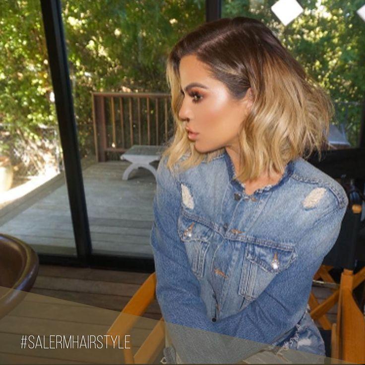 Parece que todas las hermanas Kardashian han decidido acudir a su estilista para cambiar de look.  Esta vez... Khloe  🙌 ¿Qué te parece? 😍 ¡A nosotros nos encanta!  Pic : @khloekardashian  #SalermCosmetics #SalermHairstyle #Kardashian #CambiodeLook #Look #Peinados #Tratamientos #Consejos #LongBob #Cortes #HairCut #Coloracion #Balayage