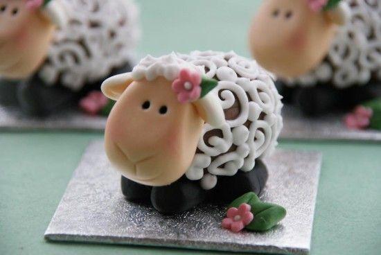 Creme Egg Easter Lambs